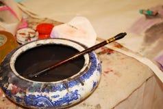 Chinese painting Stock Image