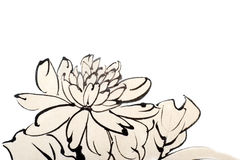 Chinese painting stock illustration