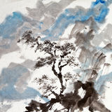 Chinese painting Stock Image