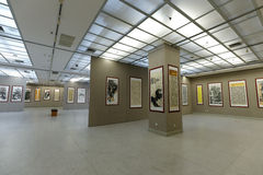 Chinese painting and calligraphy exhibition Stock Image