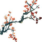 Chinese painting of flowers Royalty Free Stock Photos