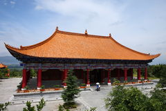 Chinese palace Stock Images