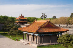 Chinese Palace Architecture Royalty Free Stock Photos