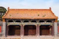 Chinese Palace Architecture Royalty Free Stock Photography
