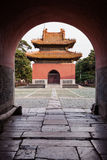 Chinese Palace Architecture Stock Photography