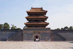 Chinese Palace Architecture Stock Image