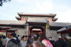 Chinese Palace Royalty Free Stock Images