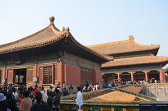 Chinese palace. In china,historical building Royalty Free Stock Images