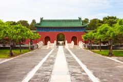 Chinese palace gate Royalty Free Stock Photography