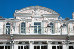 Chinese palace (Oranienbaum, Russia). stock photo