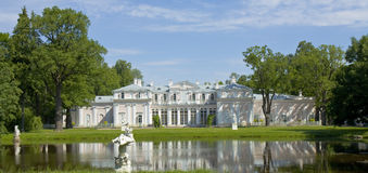 Chinese palace in Oranienbaum, Russia Stock Photography