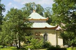 Chinese palace, Tsarskoye selo Royalty Free Stock Image