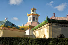 Chinese palace in Tsarskoye selo, Russia Stock Photos