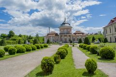 Chinese palace in the Zolochiv castle Royalty Free Stock Images