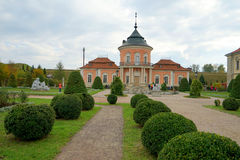 Chinese Palace in Zolochiv Castle Stock Photo