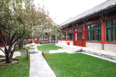 Chinese palatial yard Stock Photo