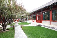 Chinese palatial yard Stock Photo