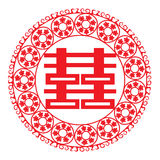 Chinese paper-cut Royalty Free Stock Photo