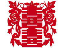 Chinese paper-cut Stock Images