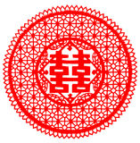 Chinese paper cut Royalty Free Stock Photos