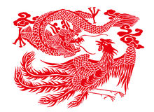 Chinese paper cutting vector illustration