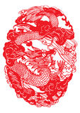 Chinese paper cutting Royalty Free Stock Photography