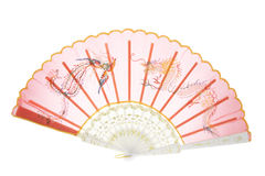 Chinese Paper Fan Royalty Free Stock Photo