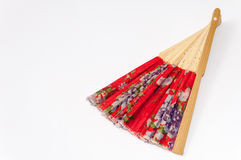 Chinese paper fan for cooling Stock Image