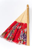 Chinese paper fan for cooling Royalty Free Stock Photos