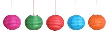 Chinese Paper Lantern Stock Image