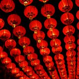 Chinese paper lantern Stock Images