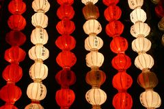 Chinese paper lantern Stock Photos