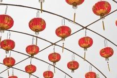 Chinese paper lantern. Royalty Free Stock Image