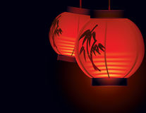 Chinese paper lantern Stock Photography