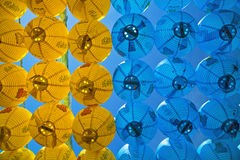 Chinese paper lanterns. New year's colorful chinese paper lanterns Royalty Free Stock Photo