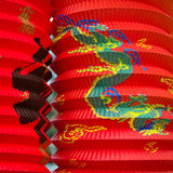 Chinese paper lanterns Royalty Free Stock Photo