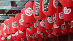 Chinese paper lanterns stock video footage
