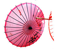 Chinese paper umbrella stock photography