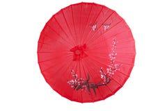 Chinese paraplu Royalty-vrije Stock Afbeeldingen