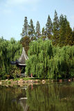 Chinese park. A very beautiful chinese park Stock Photography
