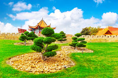 Chinese park . Stock Photography