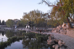 A Chinese park Royalty Free Stock Images