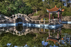 Chinese park in xiamen Royalty Free Stock Photos