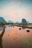Chinese pastoral scenery Stock Images
