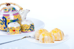 Chinese Pastry, dessert for Chinese new year Stock Images