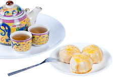 Chinese Pastry, dessert for Chinese new year Royalty Free Stock Images