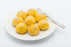 Chinese pastry mini Royalty Free Stock Photography