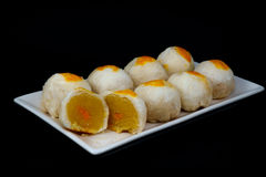 Chinese Pastry-Mung Bean with Egg Yolk Royalty Free Stock Photography