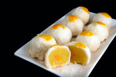 Chinese Pastry-Mung Bean with Egg Yolk Royalty Free Stock Images
