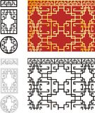 Chinese pattern Royalty Free Stock Photo